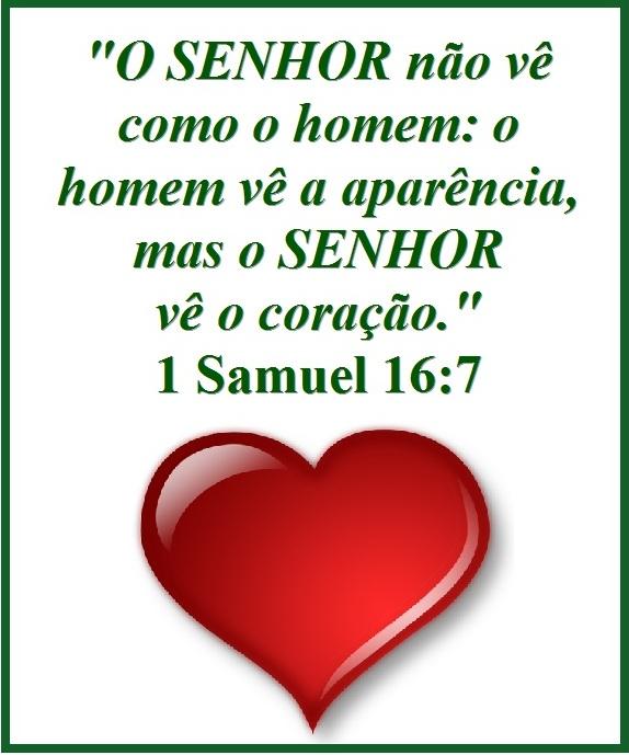 O Senhor Não Vê Como O Homem Vê 1 Samuel 167 Mission Venture