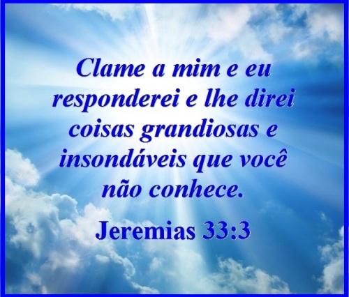 Jeremias 33 vs 3 P