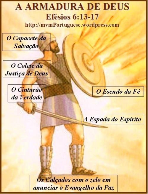 A armadura de Deus - Efésios