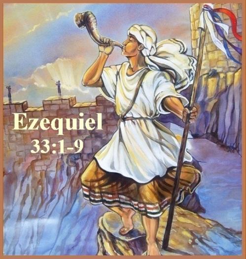 Ezequiel 33 vs 1-9 P