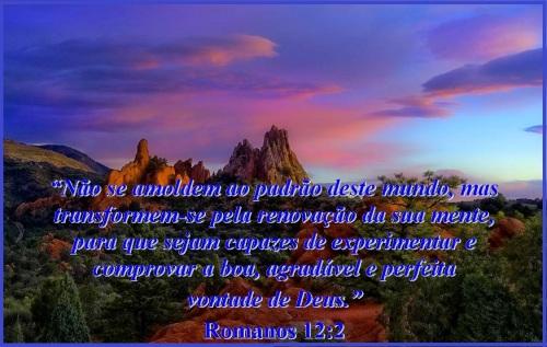 Romanos 12 vs 2 A mente em Deus MVM