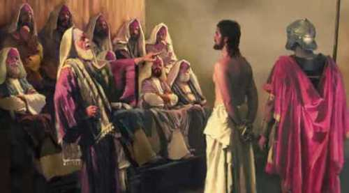 1 Jesus before Caiaphas