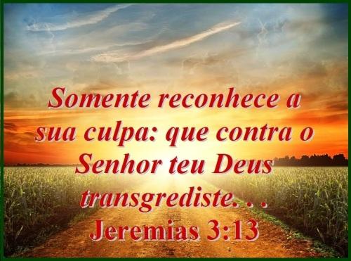 Jeremias 3 vs 13