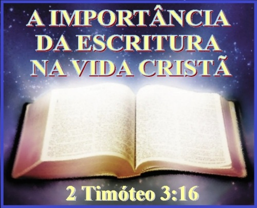 2 Timóteo 3 vs 16