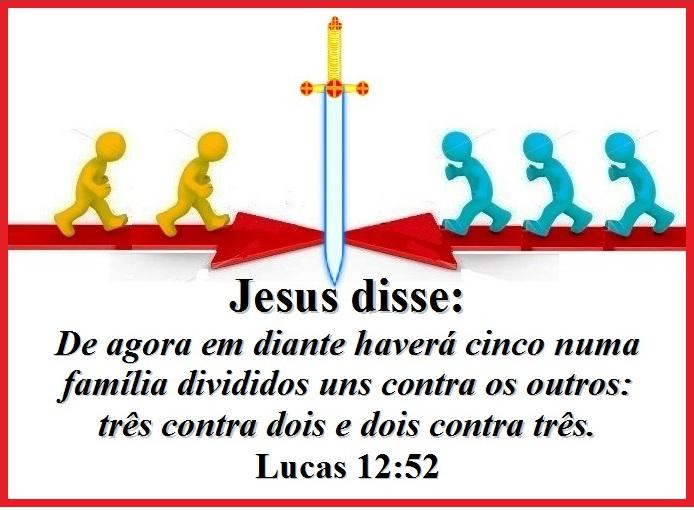 Jesus Não Traz Paz Mas Divisão Consequências Da Vinda De Cristo