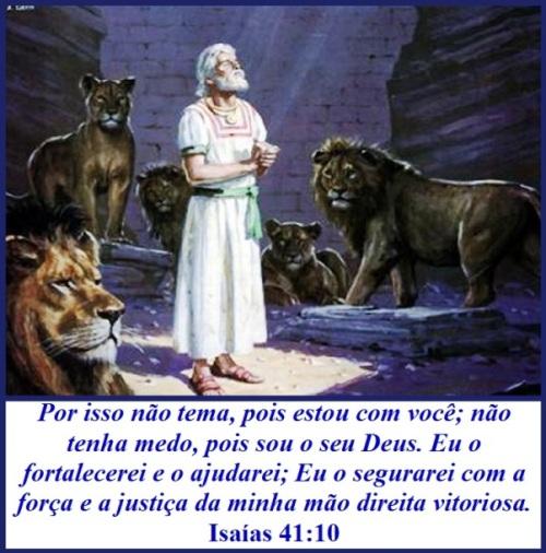 Isaías 41 vs 10   Não tema