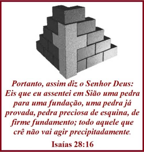 Isaías 28 vs 16 (P)