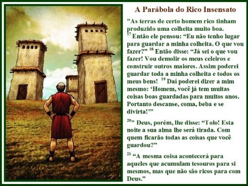 Rich fool - bigger barns (P)