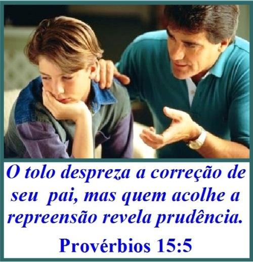 Provérbios 15 vs 5