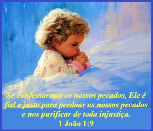 Deus perdoa - 1 João 1 vs 9