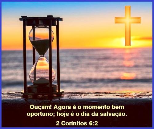 2 Corinthians 6 vs 2 (Portuguese)