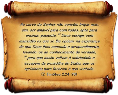 2 Timotéo 2 vs 24-26