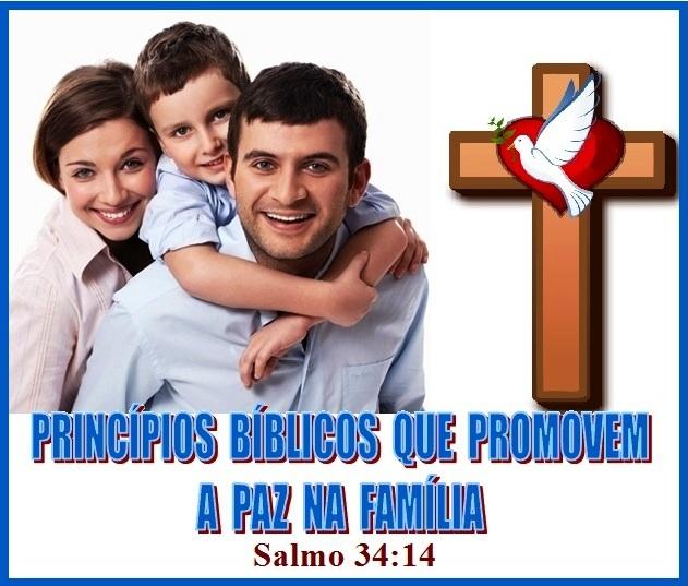 Família alegre - Salmos 34 vs 14