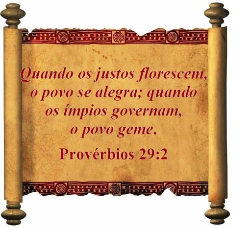 Provérbios 29 vs 2 (P)